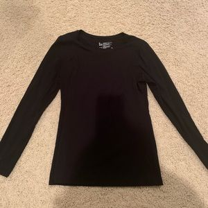Felina black long sleeve tee